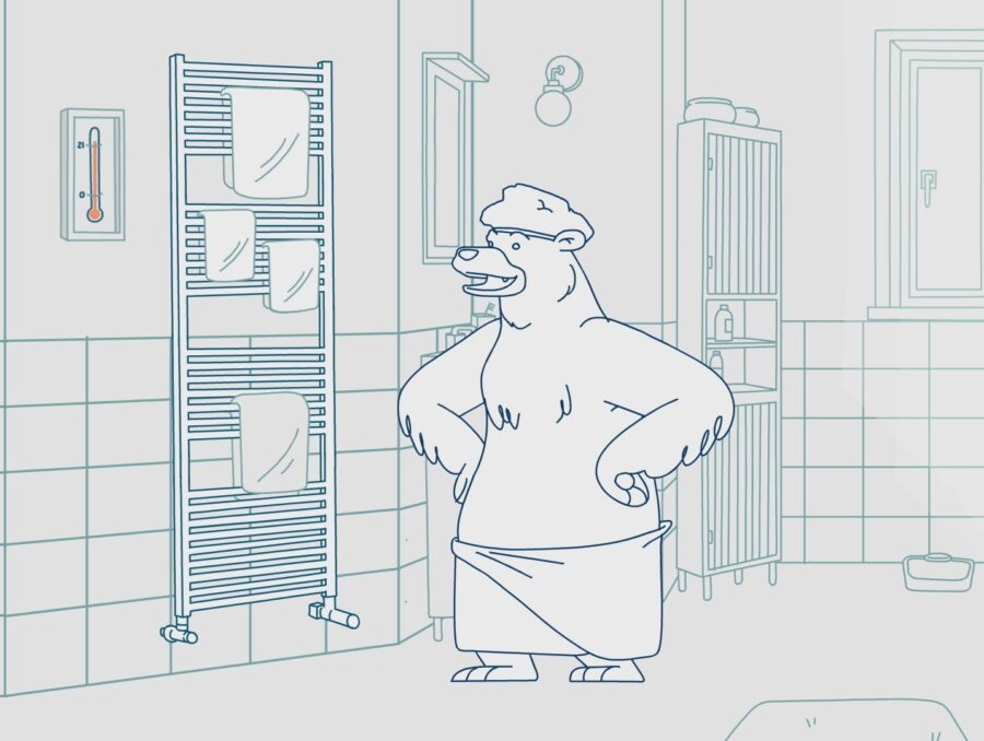 Linea_handy_animation_characters_racoon_commercial_8